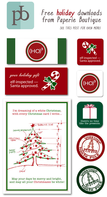 Paperie Boutique free Moo downloads Christmas