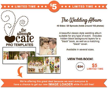 Album Cafe 2013 offer