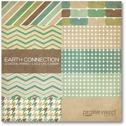 Prairie Sweet Boutique digital papers