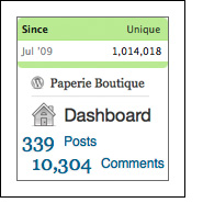 paperie two year stats