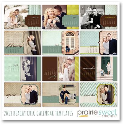 Prairie Sweet Boutique calendars