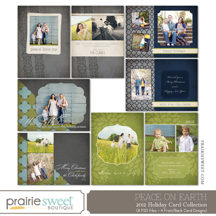 Prairie Sweet Boutique Christmas cards
