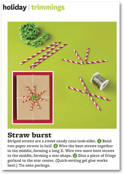 Christmas giftwrap packaging