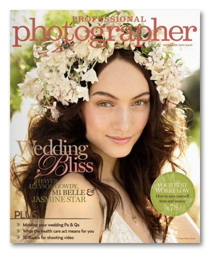 Professional Photographer Magazine September 2010 cover