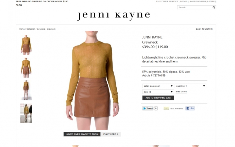 Jenni kayne product detail