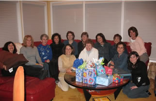 Sisterhood Channukah