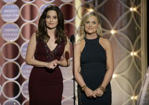Tina Fey and Amy Poehler host the Golden Globes