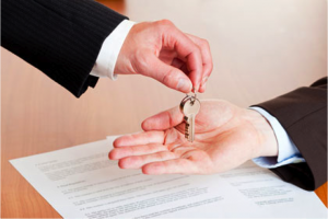 Contract and Keys - Sellers closing