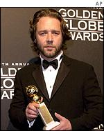 Russell Crowe won the Golden Globe for A Beautiful Mind