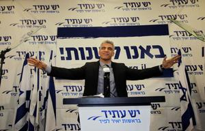 TWILIGHT FOR ISRAEL'S RIGHT: When Israel's youth and middle class turned out in large numbers to vote on January 22 elections, it was the beginning of the end to old warhorses. Former television presenter Yair Lapid's Yesh Atid party, which was formed last year, emerged as second largest in the Knesset. While Benjamin Netanyahu continues to lead the country, this year's elections sent out a clear signal that the country wants fresh faces. Photo: AP