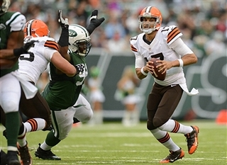 Browns lose sixth straight to Jets 24-13