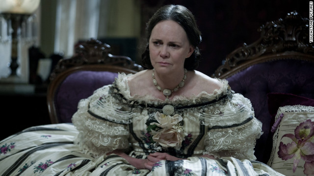 But wouldn't it be extraordinary if someone who actually had more screen time in her own film could be an upset in this category? Field played a character (Mary Todd Lincoln) who knew that history might regard her as unlikeable. Wouldn't it be something if it turned out <a href='http://www.hollywoodreporter.com/video/video-sally-field-oscar-speech-101595' target='_blank'>Oscar liked her, really liked her</a>?
