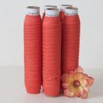 Orange Fold Over Elastic