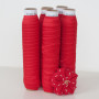 Bright Red Fold Over Elastic