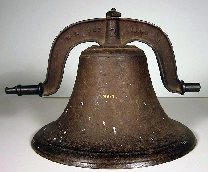 Bell from WJAG (NSHS 3369) Source: John W. & W.L. McAllister