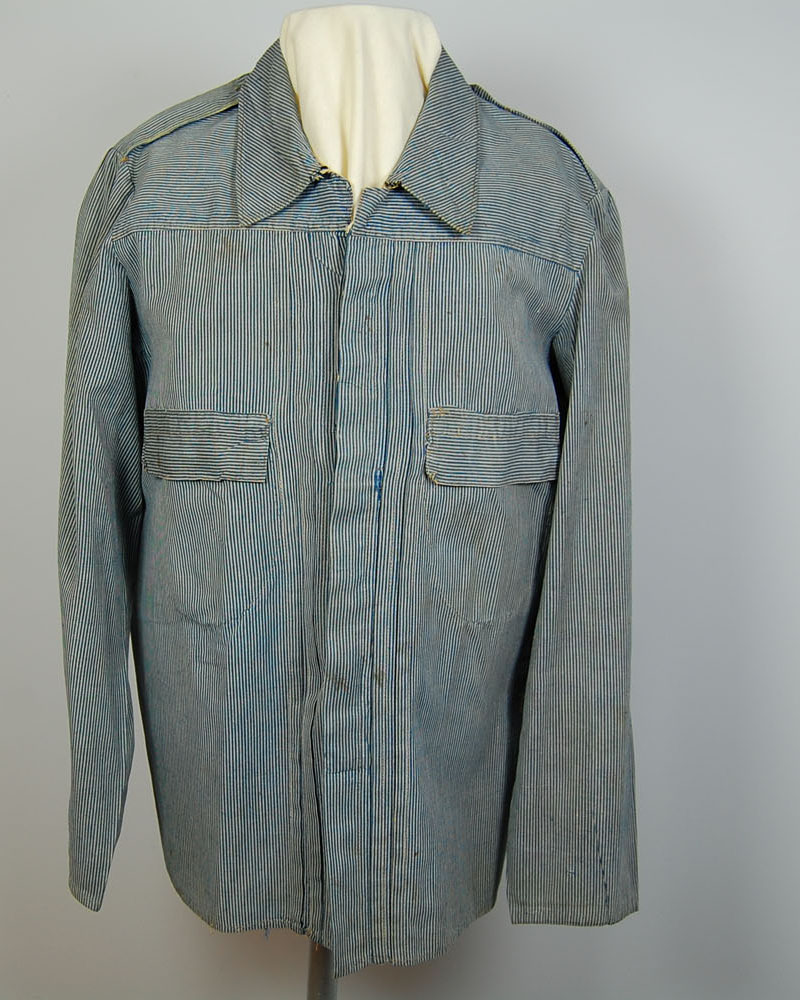 Military work shirt worn by Frank D. Eager of Nebraska during the Spanish-American War