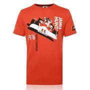 James Hunt Champion Car T-Shirt