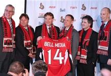 Bell and Senators rights deal (Photo: TSN)