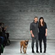 New York Fashion Week: Nicholas K F/W 2014 collection nails gothic chic look