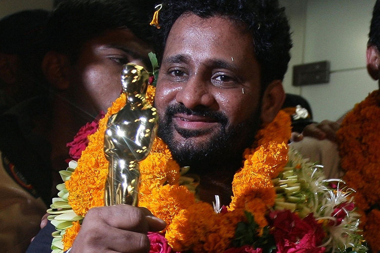 India's Resul Pookutty, who won an Oscar for sound mixing on