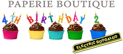 Paperie Boutique fourth birthday