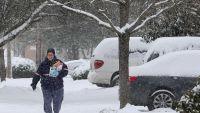 Snow, freezing rain blanket much of Northwest - Photo