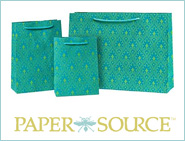 [Paper Source gift bags]