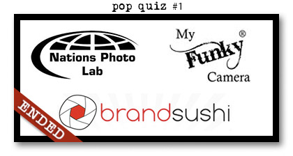 Paperie Boutique Birthday pop quiz one