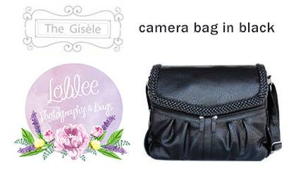 LobLee Gisele Camera Bag Giveaway