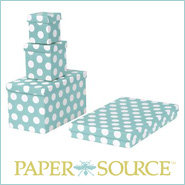 [Paper Source gift boxes]