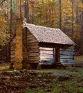 log cabin featured