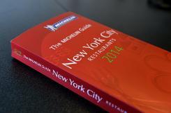 La guía gastronómica Michelin para Nueva York 2014 editada el 1 de octubre de 2013