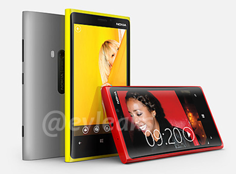2 New Lumia's Leak, Nokia Lumia 920 And Lumia 820