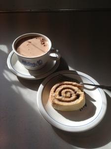 Gluten Free Cinnamon Rolls and Hot Cocoa