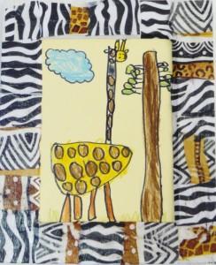 Cadeau Gabin - Cadre africain
