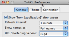 Twitkit Firefox extension