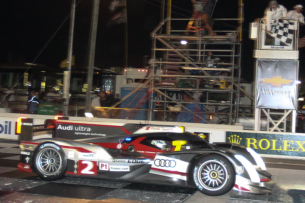 Team Audi finds Victory after twelve hours of hard fought racing