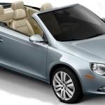 2010 Volkswagen Eos Convertible top view