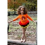 Girls Moxie Couture Gobbleicious Turkey Tutu Onesie