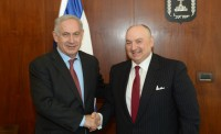 EJC President Dr. Moshe Kantor, discussed issues of mutual concern with Israeli Prime Minister Binyamin Netanyahu in Jerusalem.