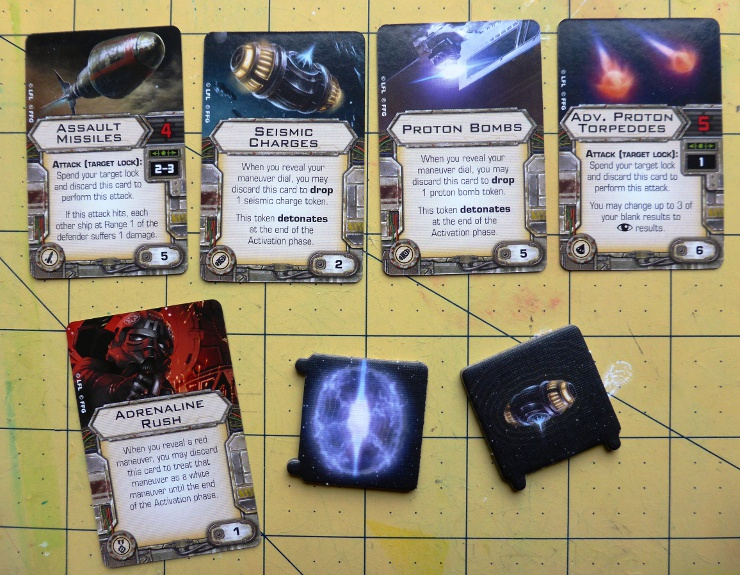 Tie Bomber Unboxing Missiles and Cards
