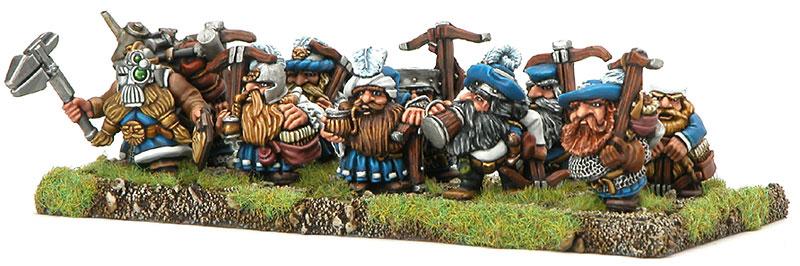 Dwarf Regiment Golden Demon