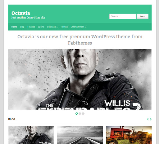 octavia En İyi WordPress Temaları 2013 (35 Adet)
