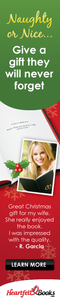 Give the Most Romantic Christmas Gift Ever - a Heartfelt Book