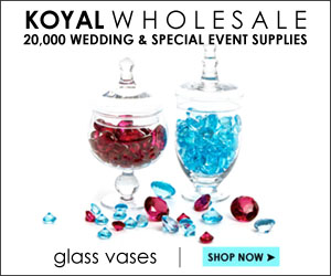 wedding vases