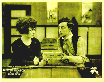 The High Sign Lobby Card