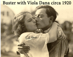 Buster with Viola Dana