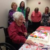 <p>Marie Schaack, a 27-year volunteer at JourneyCare, formerly Hospice and Palliative Care of Northeastern Illinois, celebrates her 102nd birthday with fellow volunteers and staff members at a party at JourneyCare&amp;nbsp;<span data-term=&quot;goog_1750243214&quot;>Tuesday</span>. Schaack was born Feb. 14, 1912. &amp;nbsp;| &amp;nbsp;Cynthia Wolf/For Sun-Times Media</p>