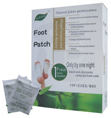 detox+patch+box - Detox Foot Patch - Koyok Kaki Buang Toksin