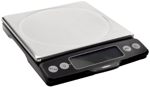 OXO Good Grips Stainless Food Scale with Pull